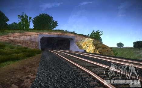 HD Рельсы v2.0 Final для GTA San Andreas пятый скриншот