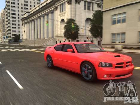 Dodge Charger SRT8 2006 для GTA 4 вид справа