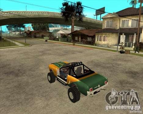Ford Mustang Sandroadster для GTA San Andreas вид слева