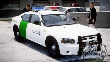 Dodge Charger US Border Patrol CHGR-V2.1M [ELS] для GTA 4