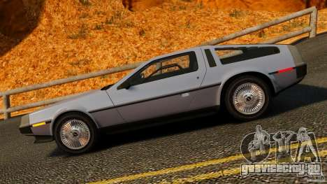 DeLorean DMC-12 1982 для GTA 4 вид слева
