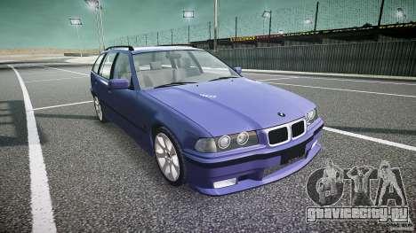 BMW 318i Touring для GTA 4 вид сзади