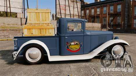 Ford Farmtruck MF 1932 для GTA 4 вид слева