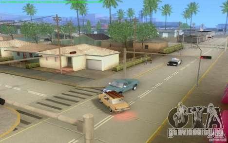 Бетонные дороги Лос-Сантос Beta для GTA San Andreas десятый скриншот