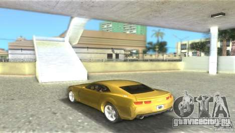 Chevrolet Camaro для GTA Vice City вид слева