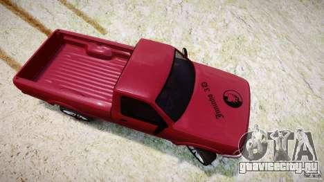 Ford Ranger для GTA 4 вид сбоку