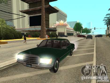 Mercedes - Benz 280SE для GTA San Andreas