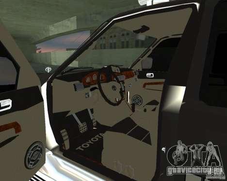 Toyota Surf v2.1 для GTA San Andreas вид справа