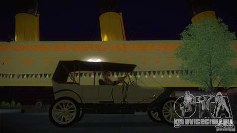 Руссо-Балт С 2440 для GTA San Andreas вид справа