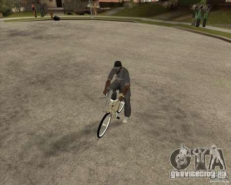 Новый велосипед для GTA San Andreas вид справа
