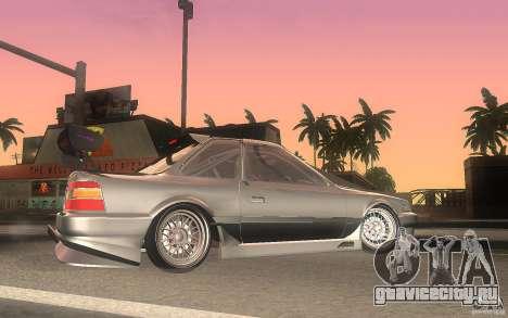 Toyota Soarer GZ20 для GTA San Andreas вид слева