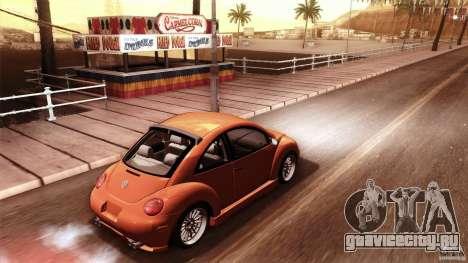 Volkswagen Beetle RSi Tuned для GTA San Andreas салон