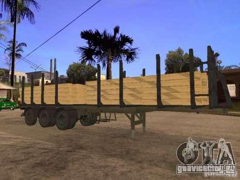 Прицеп МАЗ 99864 для GTA San Andreas вид сбоку