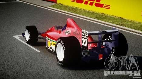 Ferrari Formula 1 для GTA 4 вид сзади слева
