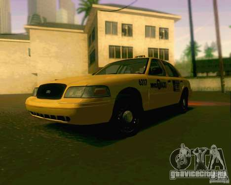Ford Crown Victoria 2003 NYC TAXI для GTA San Andreas