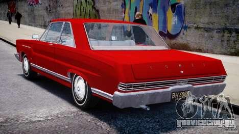 Ford Mercury Comet 1965 [Final] для GTA 4 вид сверху
