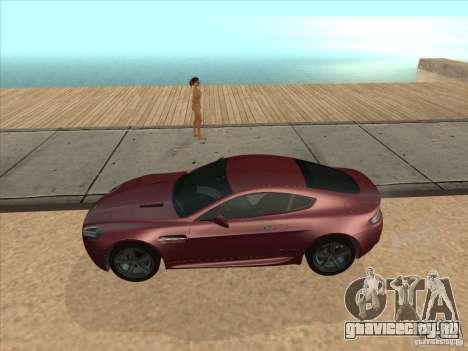 Aston Martin v8 Vantage n400 для GTA San Andreas вид сзади слева