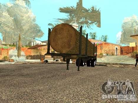Спиленное дерево для GTA San Andreas вид справа