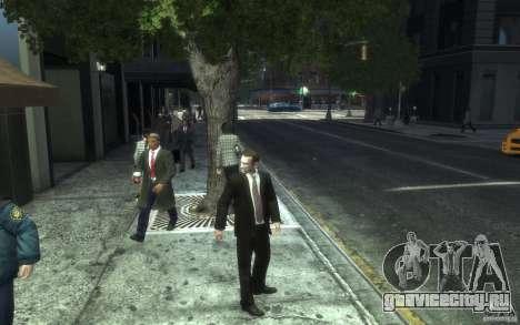 Открытые пиджаки с галстуками для GTA 4 седьмой скриншот