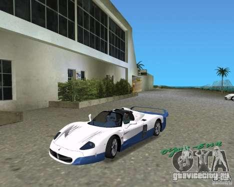 Maserati MC12 для GTA Vice City