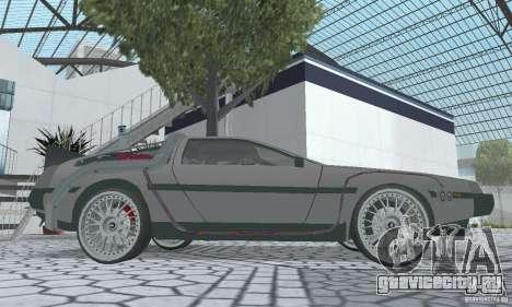 DeLorean DMC-12 (BTTF2) для GTA San Andreas