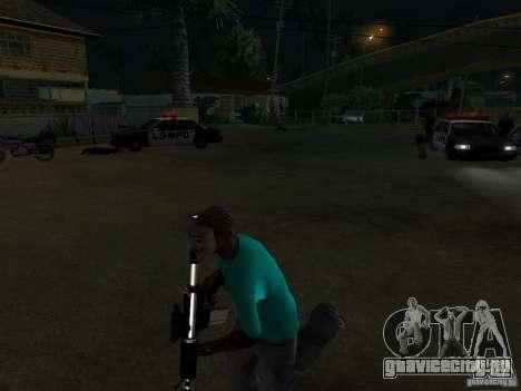 Маска Гая Фокса для GTA San Andreas второй скриншот