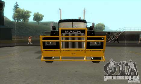 Mack R600 для GTA San Andreas вид слева