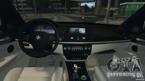 BMW X5 xDrive35d для GTA 4 вид сзади