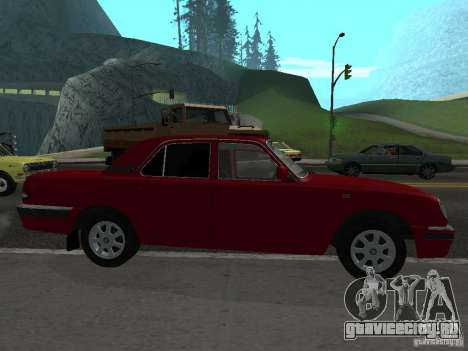 ГАЗ Волга 31105 для GTA San Andreas вид слева