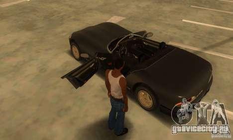 New Banshee [HD] для GTA San Andreas вид изнутри