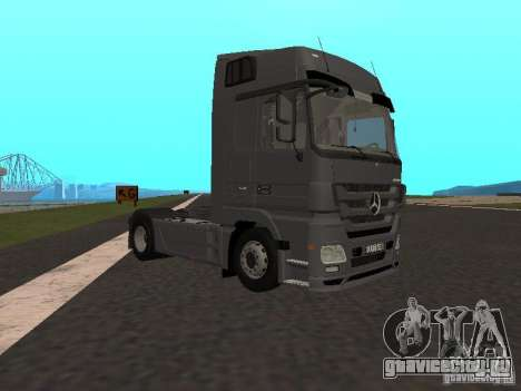 Mercedes-Benz Actros MP3 для GTA San Andreas вид справа