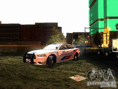 Dodge Charger 2011 Toronto Police для GTA San Andreas
