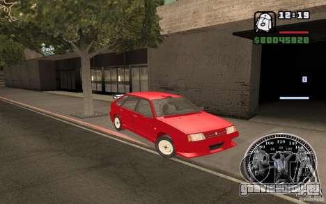 ВАЗ 21093i для GTA San Andreas салон