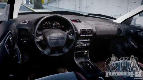 Acura Integra Type-R для GTA 4 вид сзади