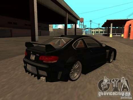 BMW M3 E92 Tunable для GTA San Andreas вид сбоку
