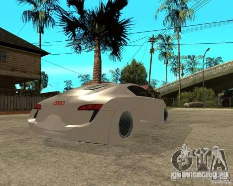 AUDI RSQ concept 2035 для GTA San Andreas вид сзади слева