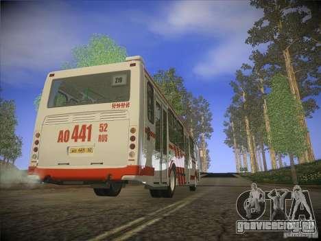 ЛиАЗ-5256.26 v.2.1 для GTA San Andreas вид сверху
