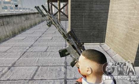 RSASS из MW3 (снайперка) для GTA 4 четвёртый скриншот