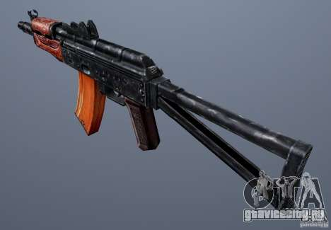 AKS74U для GTA San Andreas второй скриншот