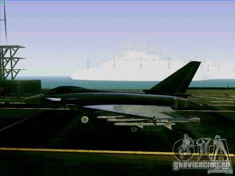 Eurofighter-2000 Typhoon для GTA San Andreas вид слева