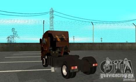 КамАЗ 5460 Skin 4 для GTA San Andreas вид справа