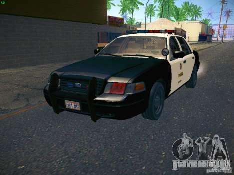 Ford Crown Victoria Police Intercopter для GTA San Andreas