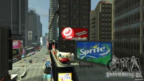 Real Time Square mod для GTA 4 четвёртый скриншот