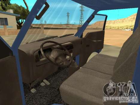 Hyundai Porter для GTA San Andreas вид справа