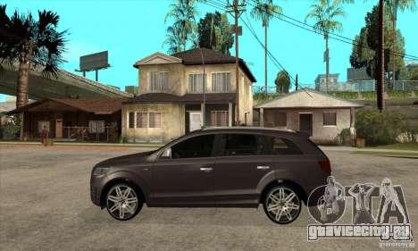 AUDI Q7 V12 V2 для GTA San Andreas вид слева