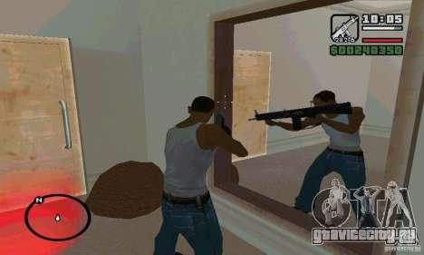 AA-12 дробовик для GTA San Andreas второй скриншот