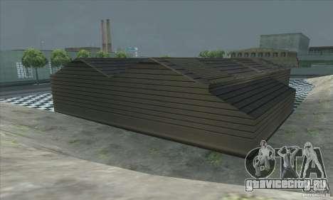 Обновленный гараж СJ в SF для GTA San Andreas пятый скриншот