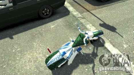 HellFire Chopper для GTA 4 вид сзади слева