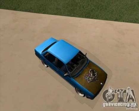 BMW E30 325e Duscchen для GTA San Andreas вид слева