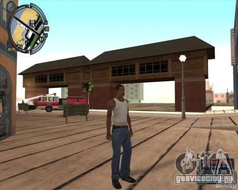 S.T.A.L.K.E.R. Call of Pripyat HUD for SA v1.0 для GTA San Andreas восьмой скриншот